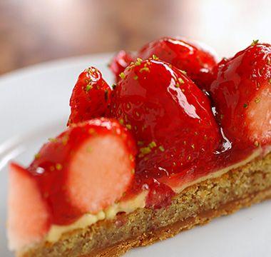 Caffe Michelangelo. This tart soooo delicious!!! I love it.
