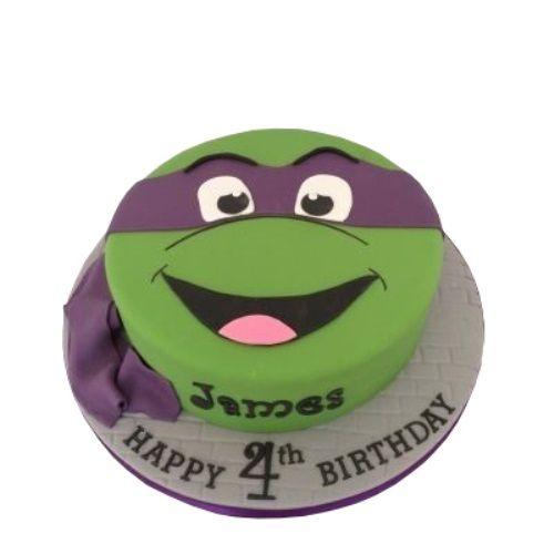 Ninja Turtles Cake Caker Street Ninja Turtle Cake Turtle Cake Ninja Turtle Birthday Cake