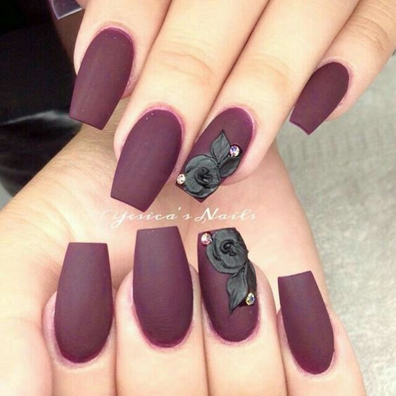 45 Simple And Charming Wine Red Nail Art Designs Fall Burgundy Nails Wine Red Stiletto Nails Burgundy Wine Nail Co Wine Nails Burgundy Nails Red Acrylic Nails