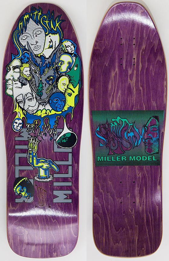 Chris Miller My Old Deck In Early 90s Green Not Purple