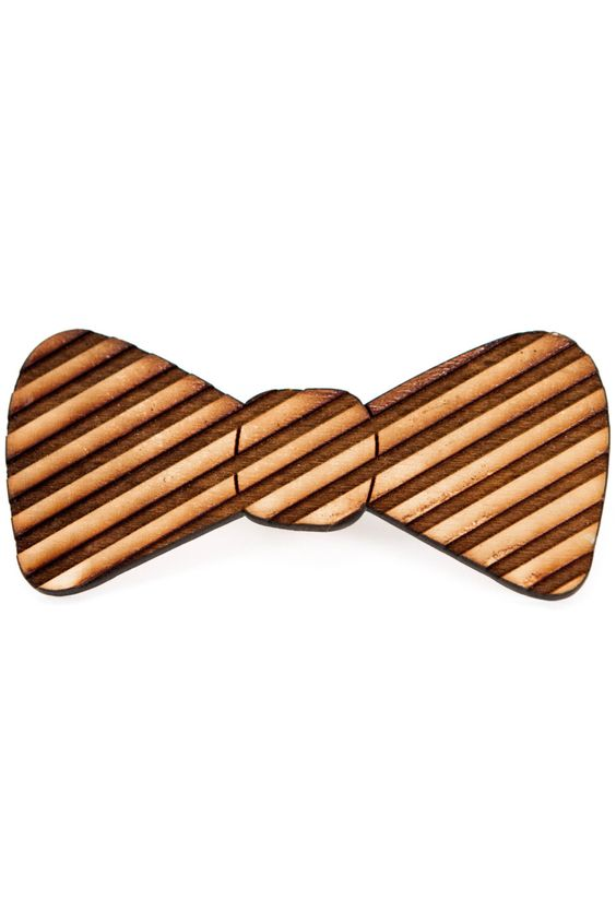 New to JDBmercantile on Etsy: Child's Wood Bow Tie -Simple Boys Striped Wooden Tie Unique Boys Formal Wear Little Kid Tie Special Occasion Bowties for Kids [BT-105] (18.00 USD)