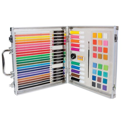 First Impressions Complete Art Studio Set for Kids only $24.99    No matter if they are age 7 to 15, this set is sure to get lots of use and your young artist will be able to create everything from sketches and drawings to cartoons and paintings!
