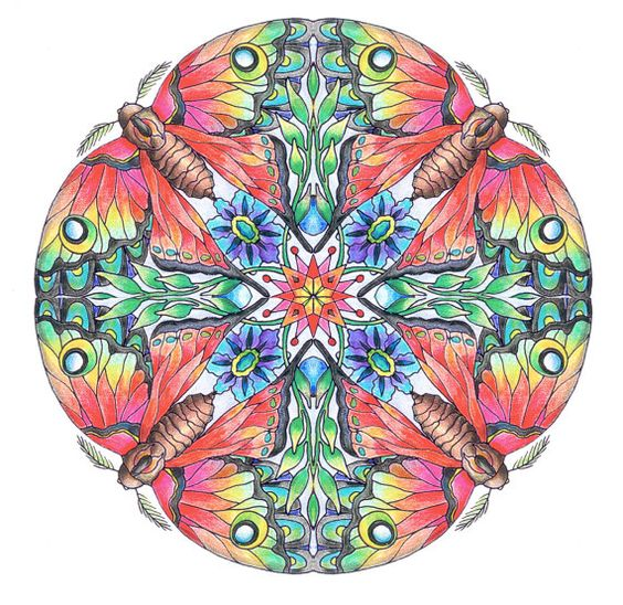 Mandalas: Set 3, Transformation A portfolio of complex coloring pages for adults by Vermont artist, Cynthia Emerlye.  This is Set 3 in my Mandala Her books may seem a little pricey but her work is worth every penny. I love the book I bought from her.