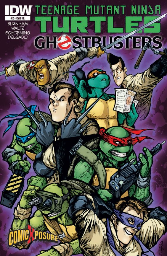 TMNT and GHOSTBUSTERS