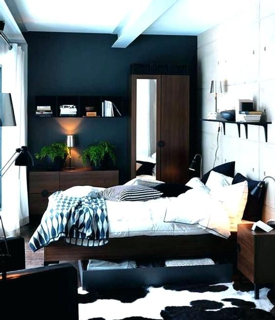 Ikea Small Bed Small Bedroom Design Examples Ikea Bedroom Designs Small Master Bedroom Small Bedroom Small Bedroom Ideas For Couples