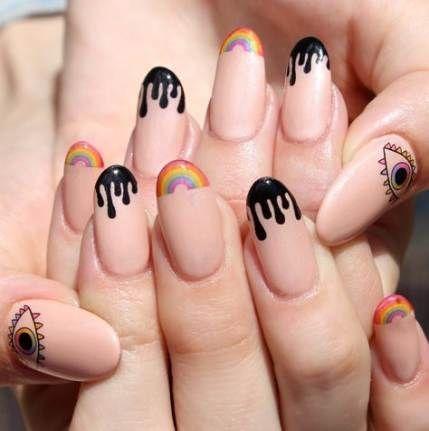 Tumblr Nails Ideas Nail Ideas Tumblr 11 Red Acrylic Nails Cute Nails Simple Nails