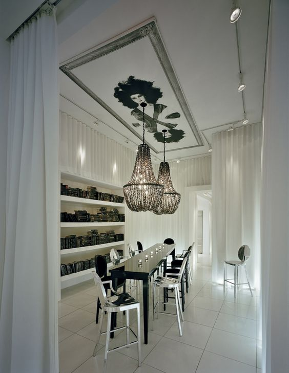 philippe starck plafonds and art de plafond on pinterest. Black Bedroom Furniture Sets. Home Design Ideas