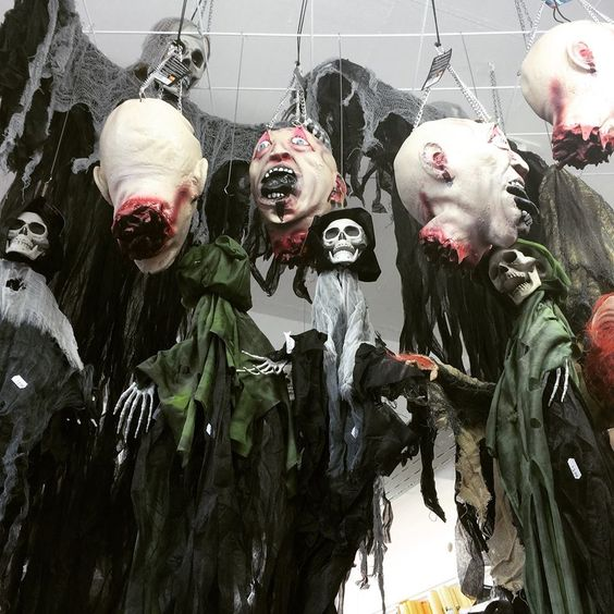 #Halloween2015 #Partydeko #gruselig #Geister