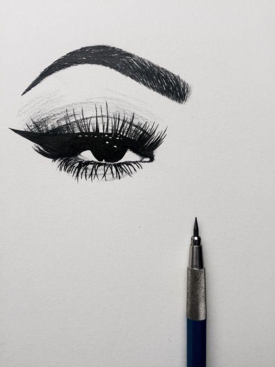 Eye drawing artsy pinterest drawings see you and eyes for Tumblr drawings of eyes
