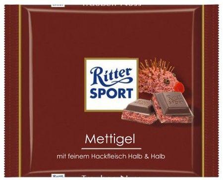 RITTER SPORT Fake Schokolade Mettigel