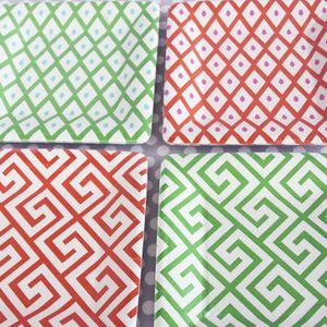 CUTE paper plates/napkins