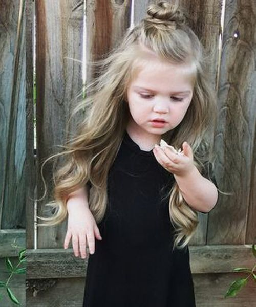 Finest Half Up Half Down Long Hairstyles 2019 For Little Girls Styles Prime Long Hair Styles Girl Hairstyles Hair Styles
