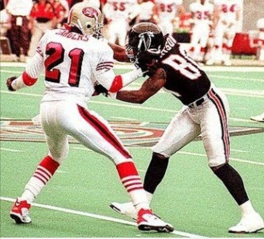 Pin By Hassan Gilchrist On Prime Time 21 Atlanta Falcons Football Atlanta Falcons Fans Falcons Football