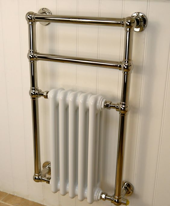Dimplex 250w Chrome Electric Towel Rail: Wall Mounted Electric Oil Filled Towel Rail