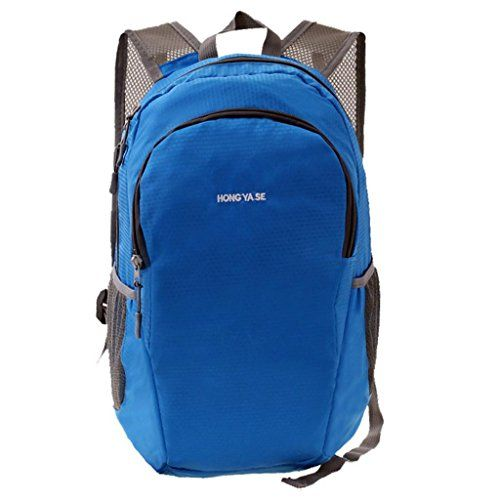 Special Offers - Hong Yase Nylon Lightweight Ultrathin Skin Daypack Hiking Backpack Blue - In stock & Free Shipping. You can save more money! Check It (May 07 2016 at 07:28PM) >> http://campingtentsusa.net/hong-yase-nylon-lightweight-ultrathin-skin-daypack-hiking-backpack-blue/