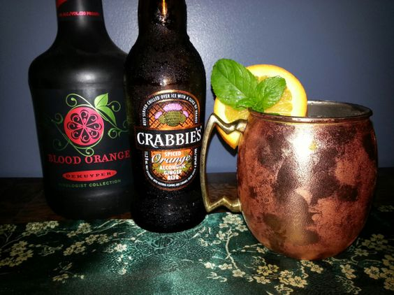 ... Orange Liqueur and Crabbie's Alcoholic Orange Ginger Beer. SO Good