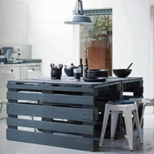 10 Suggestions for Unique Kitchen Island Creations: Go Green in the Kitchen