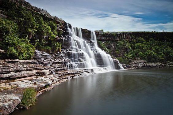 Horseshoe Falls, in Mkambati Reserve. Photo by Scott Ramsay.