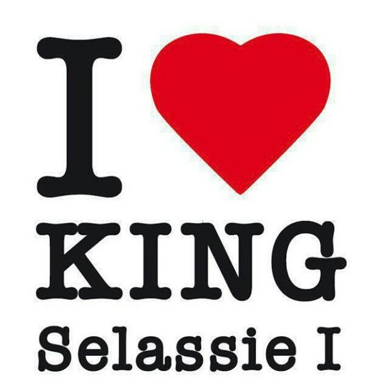 """""""Love You King SelassiePromise You I'll Keep Your CrownLove You King SelassieNo man will bring me Down"""""""