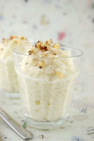French rice pudding -- yes, please!