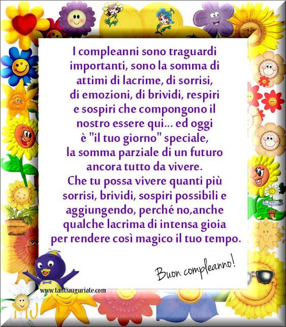 I compleanni sono traguardi importanti, sono la somma di attimi di lacrime, di sorrisi... #compleanno #buon_compleanno #tanti_auguri: