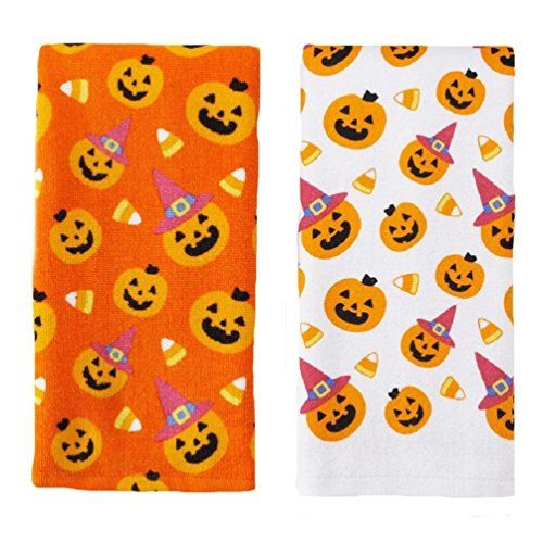 Halloween Pumpkin/Candy Corn Kitchen Towels 2 Pack Midnight Market http://www.amazon.com/dp/B00O92JG4G/ref=cm_sw_r_pi_dp_4aqyvb1SGEVP0