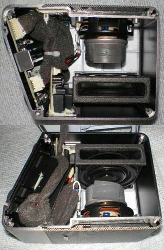 Bose M3 Micro Music Monitor Passive Port スピーカー 技術