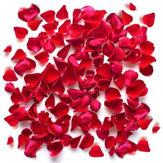 Valentinstag Rosenbluten Kunstliche Rosen Blumenblatter
