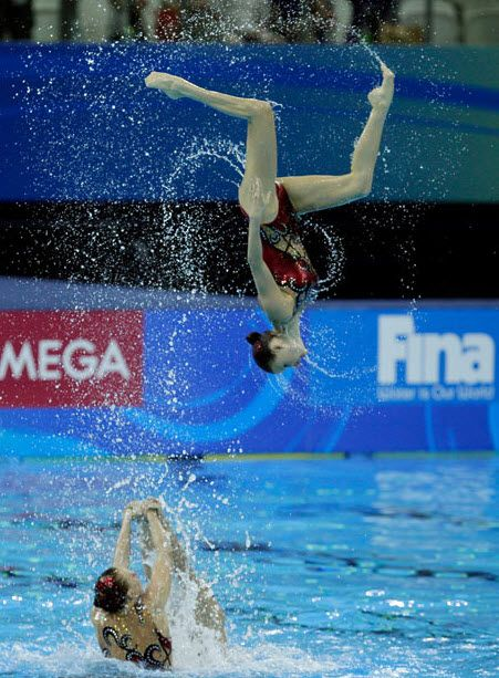 Synchronized swimming at 14th FINA world championships