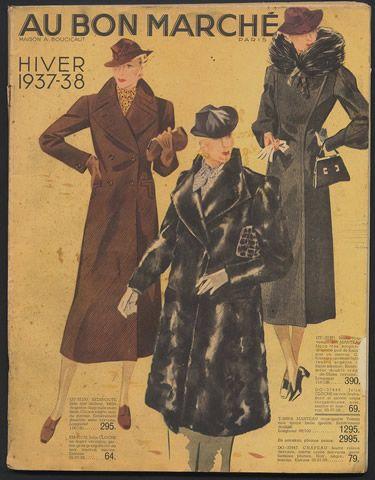 Au Bon Marché (Department Store) 1938 Catalogue