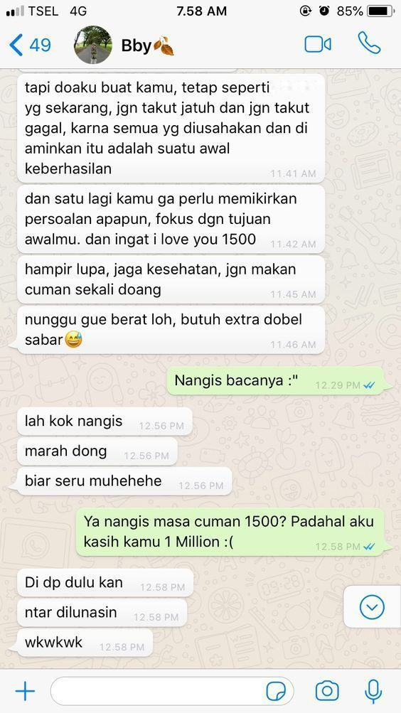 Relationship Chat Indonesia 99 Kata Kata Pacar Ya Teks Romantis