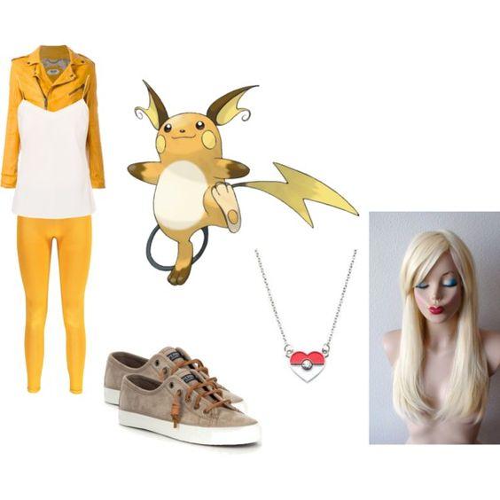raichu cosplay by katie-lutz on Polyvore featuring Ted Baker, Pihakapi, Boohoo…