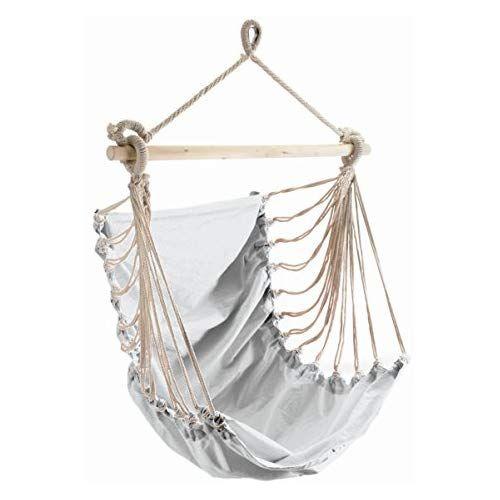 Hangesessel Hangeschaukel Sitzhangematte Fashion In Weiss