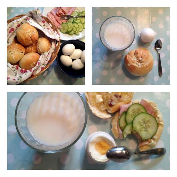 Rimna´s skafferi: Enkla frukostbröd