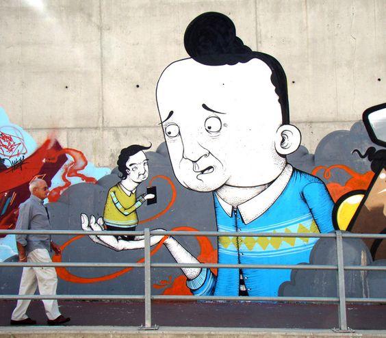 Street art - Sea creative