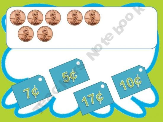 Slap the Value - Coin Combinations product from Ms-Lyric on TeachersNotebook.com