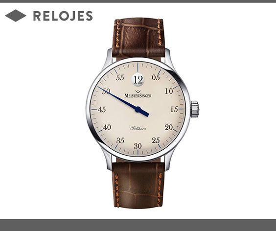 MEISTERSINGER, NUEVA MARCA DE UNION SUIZA - Reloj MeisterSinger, nueva marca en Union Suiza (Rambla Cataluña 17, Barcelona).