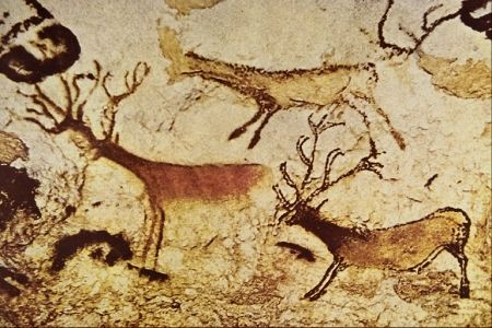 PALEOLITHIC: Lascaux Cave. Around 30,000 years old. Cave ...