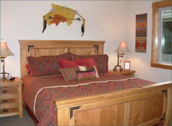 Native American Bedroom