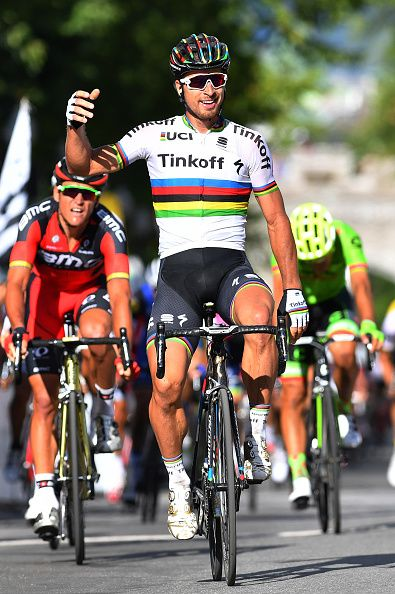 Peter Sagan wins Grand Prix Cycliste de Quebec 2016 / Tim de Waele Getty Images