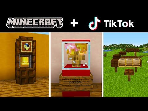 Minecraft Tik Tok Compilation 4 Youtube Minecraft All Minecraft Minecraft Tips