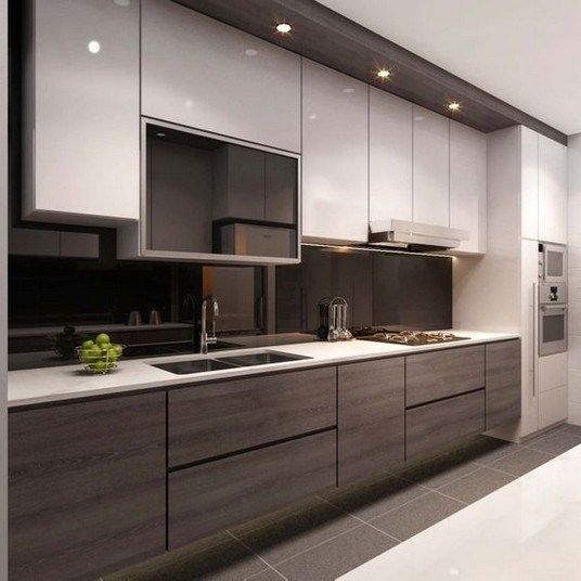 15 Elegant Modern Kitchen Design Ideas For Trendy Modern Home Kitchen Room Design Kitchen Layout Modern Kitchen