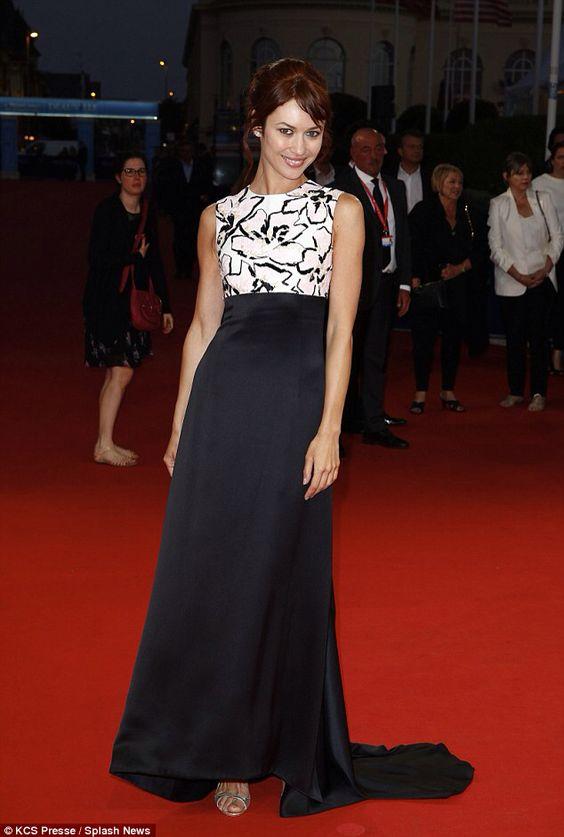 Olga Kurylenko dazzled at the November Man premiere at the 2014 Deauville Film Festival