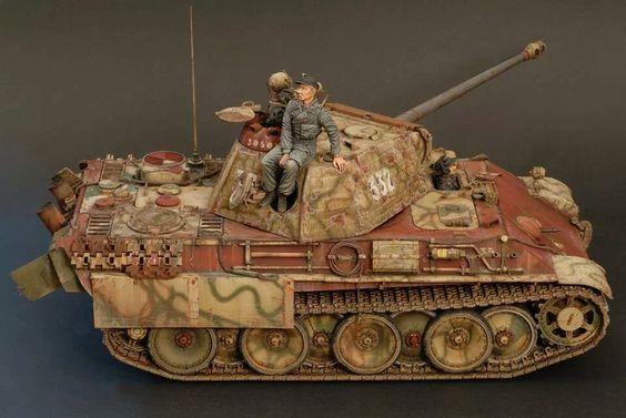 PzKpfw V, Panzerkampfwagen V, Panther, Sd. Kfz. 171 ...