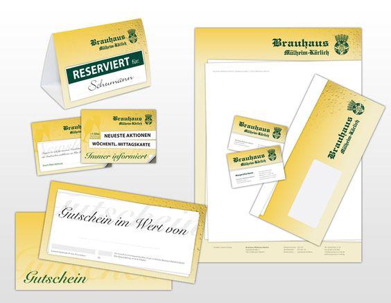 Corporate Design für das Brauhaus Mühlheim-Kärlich