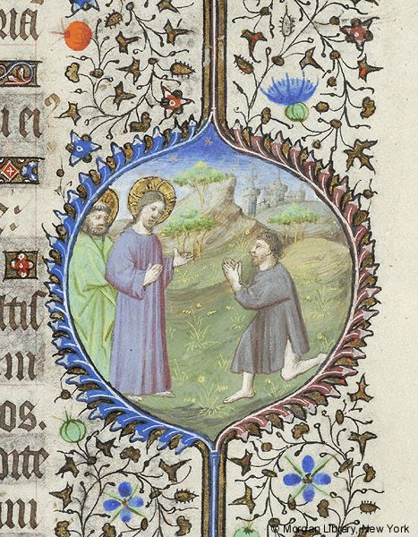 Book of Hours, MS M.359 fol. 81r - Images from Medieval and Renaissance Manuscripts - The Morgan Library & Museum