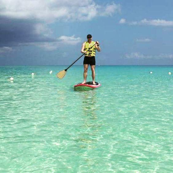 Fun in Caribbean  #caymanislands #paddleboarding #supersommer by kjellmh