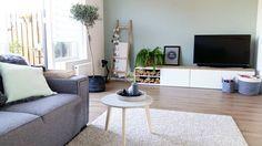 #kwantum repin: Bijzettafel VARESE > https://www.kwantum.nl/meubelen/tafels/meubelen-tafels-bijzettafels-bijzettafel-varese-mint-50cm-1344096 @ellenlina83 - Ik hou van een opgeruimde woonkamer. Zorgt ook voor een opgeruimd hoofd! #home #interior #homedecor #livingroom #interiors #athome #mystyle #interieur #flexa #earlydew #kwantum #olive