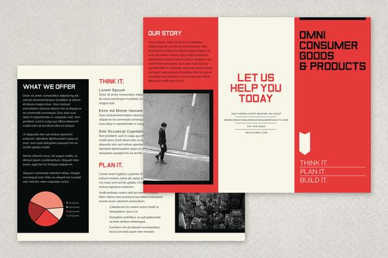 163 best Brochure Design Templates images on Pinterest Brochure - retro brochure template