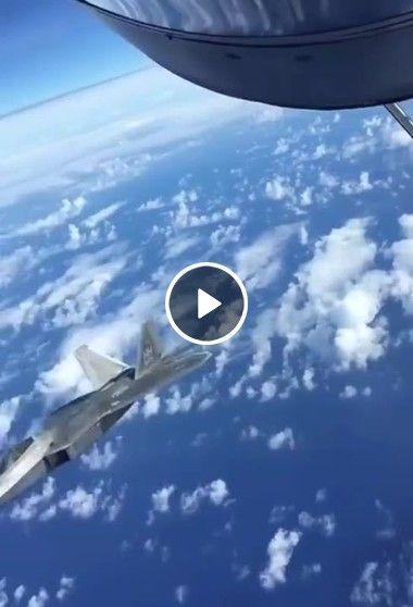 Abastecendo Avião No Céu